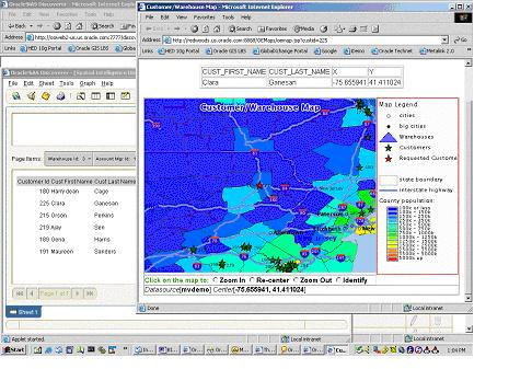 Integrating Mapping And Spatial Data Into Your Oracle Data Warehouse