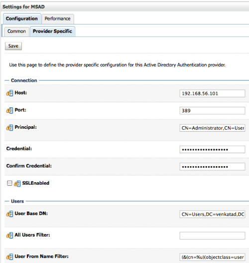 Oracle BI EE 11g – Security Integration with Microsoft Active Directory