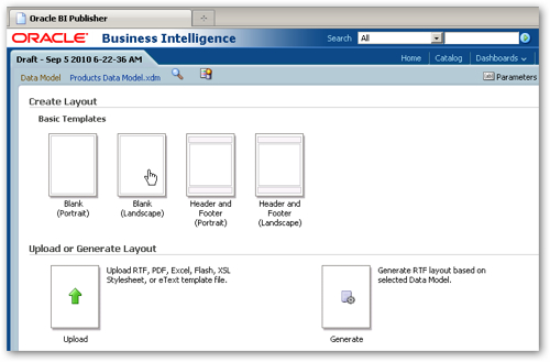 OBIEE 11gR1 : New Features in BI Publisher 11gR1