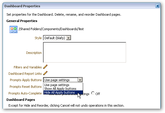 OBIEE 11 1 1 6 : New Dashboard, Analysis and Reporting Features