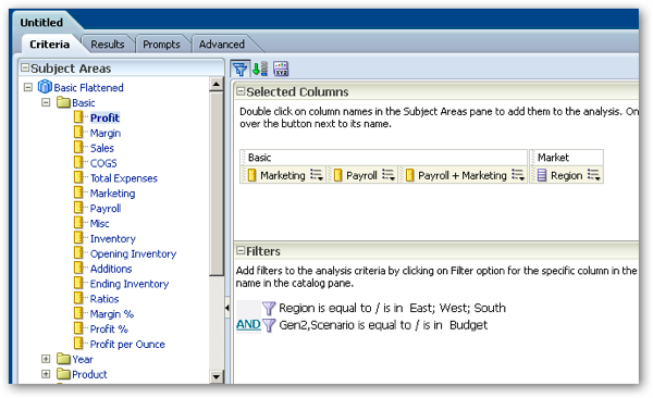 OBIEE Calculations, MDX Functions, Flattened Measures, and