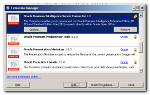 Oracle releases BI extension for Open Office