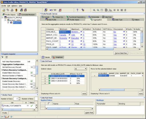 OWB Data Profiler