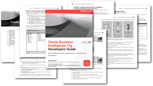 Oracle Business Intelligence Developers Guide