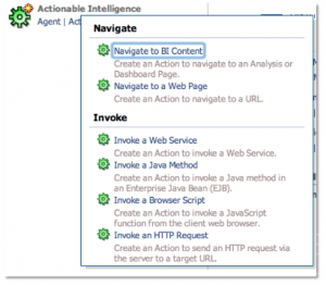 Navigating to BI Content in OBIEE11g and Passing Multiple