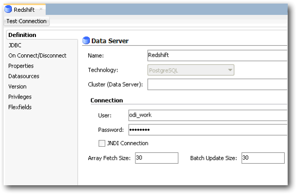 Building an Amazon Redshift Data Warehouse using ODI and Attunity