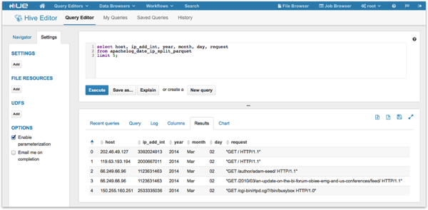 Simple Data Manipulation and Reporting using Hive, Impala and CDH5