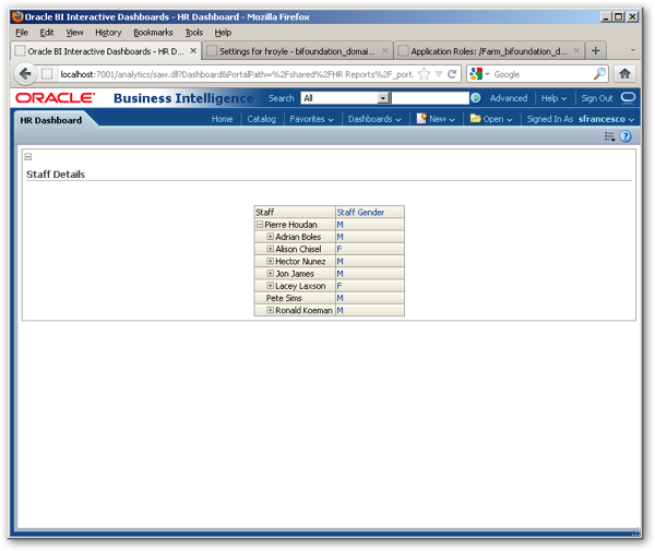 OBIEE 11g Security Week : Subject Area, Catalog and