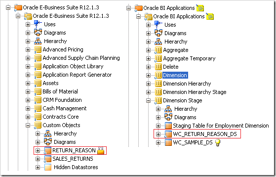 Customisations in BI Apps 11 1 1 7 1 Part 2 : Category 2 Changes