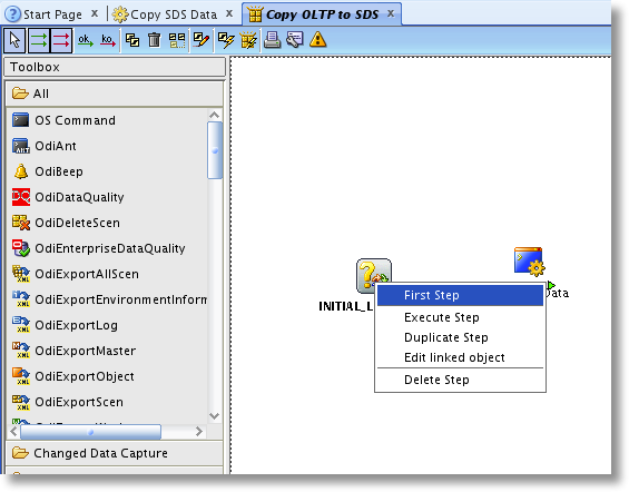 OBIA: Set INITIAL_LOAD_SCN variable as first step