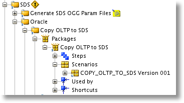 OBIA: Copy OLTP to SDS