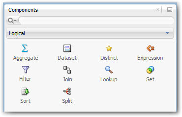 ODI12c Components Panel