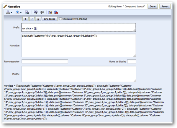 Embedding a D3 Visualisation in OBIEE