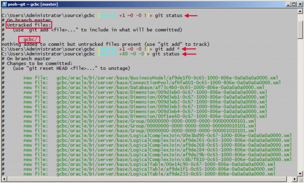 MDS XML Git Add