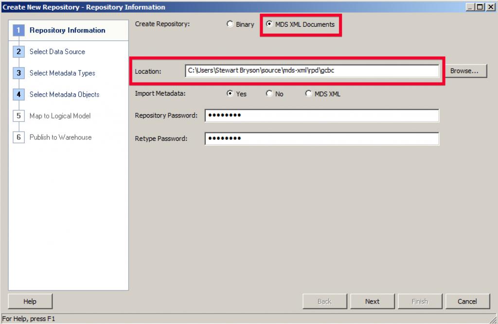 XML New RPD