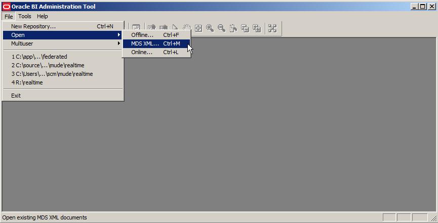 MDS XML Open