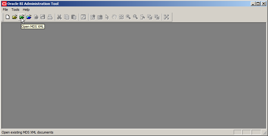 MDS XML Toolbar