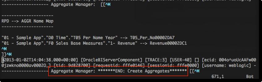 END: Create Aggregates