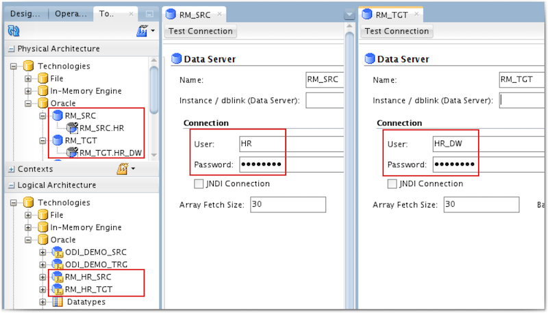 Data Integration Tips: ODI - One Data Server with several Physical