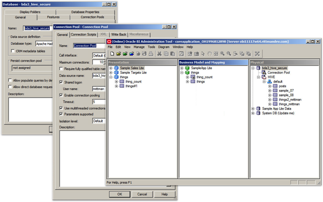 Connecting OBIEE11g on Windows to a Kerberos-Secured CDH5