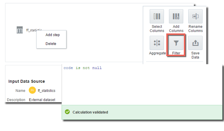 Data Flow Step 1
