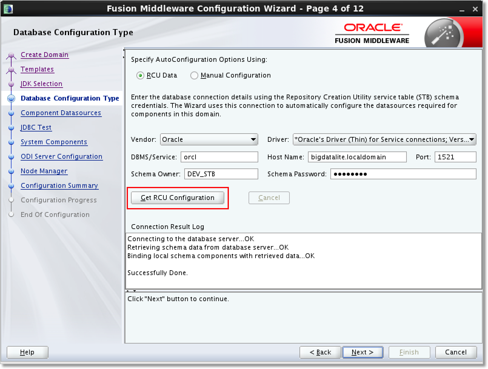 Oracle data integrator 12c getting started installation and standalone agent configuration baditri Images