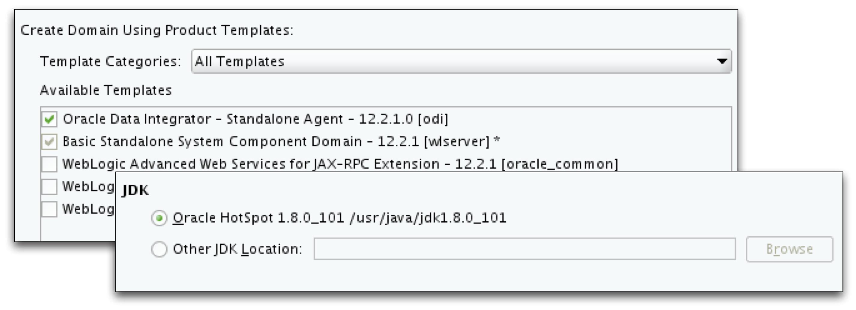 Configure ODI Agent component