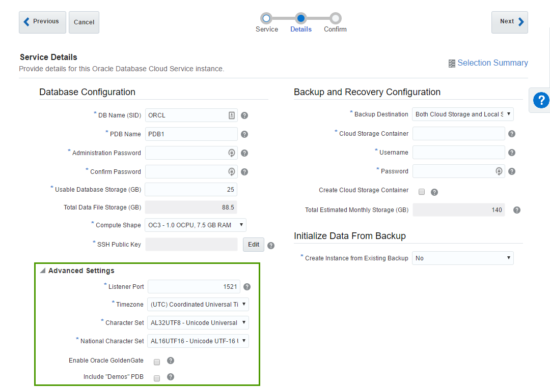 First steps with Oracle Analytics Cloud
