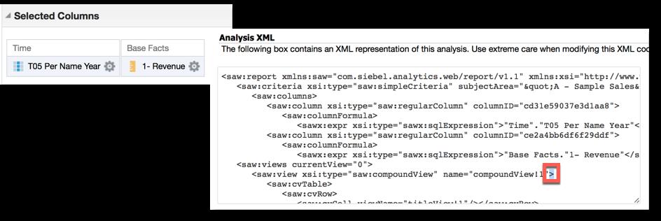 Invalid XML
